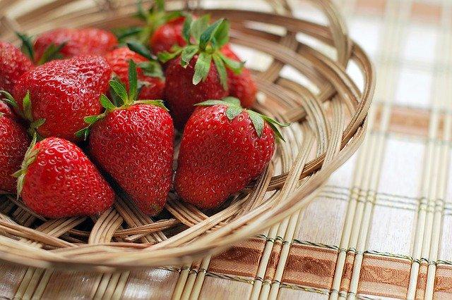 fresas para adelgazar